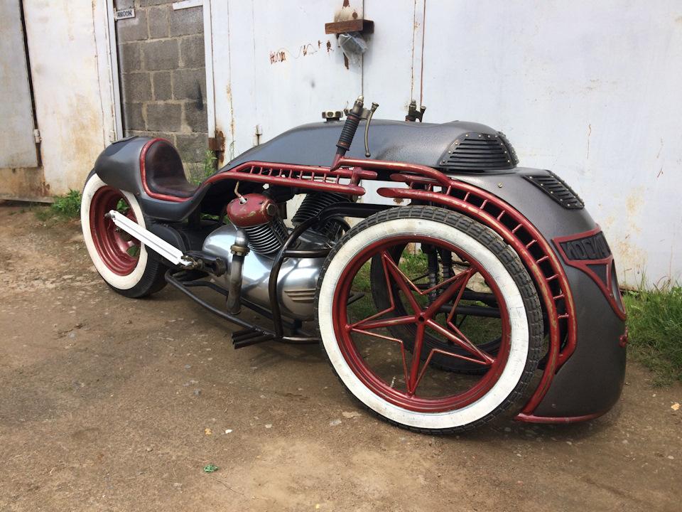 Steampunk Style Trike